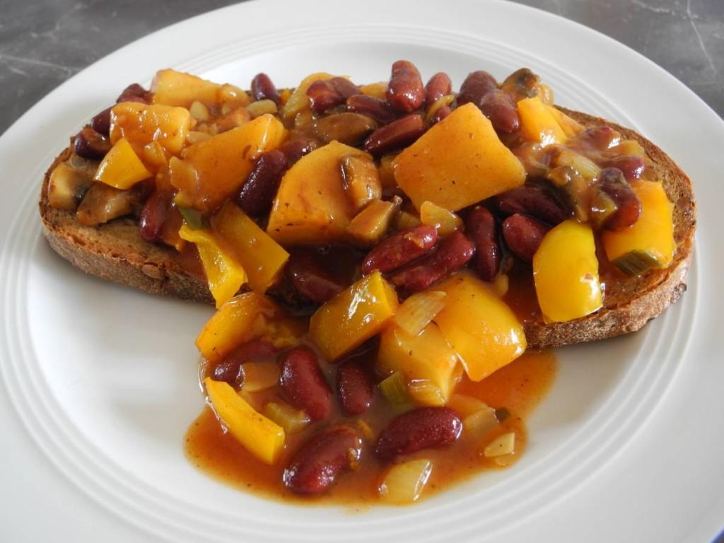 Kidney-Brot vegan