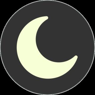 Mond Nacht Symbol, naturspass.de