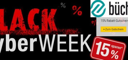 buecher.de Black Cyber week