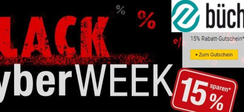 buecher.de Black Cyber week