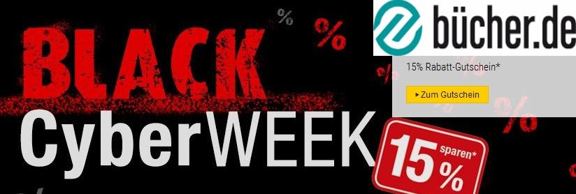 Buecher.de – Die Black Cyber WEEK 2017