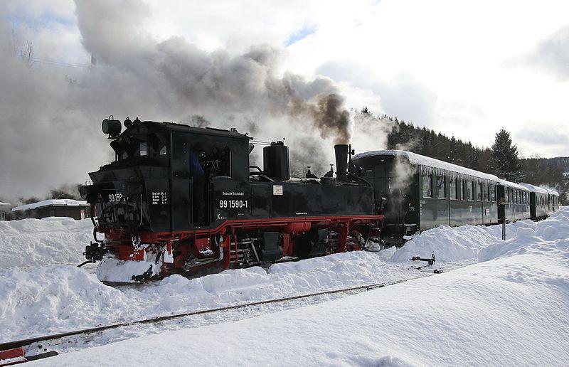 Pressnitztalbahn Winter