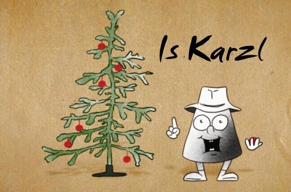 Is Karzl, die kleine Räucherkerze