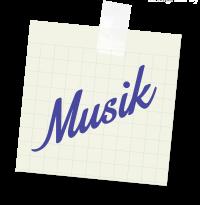 Sticker Musik