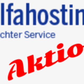 alfahosting aktion