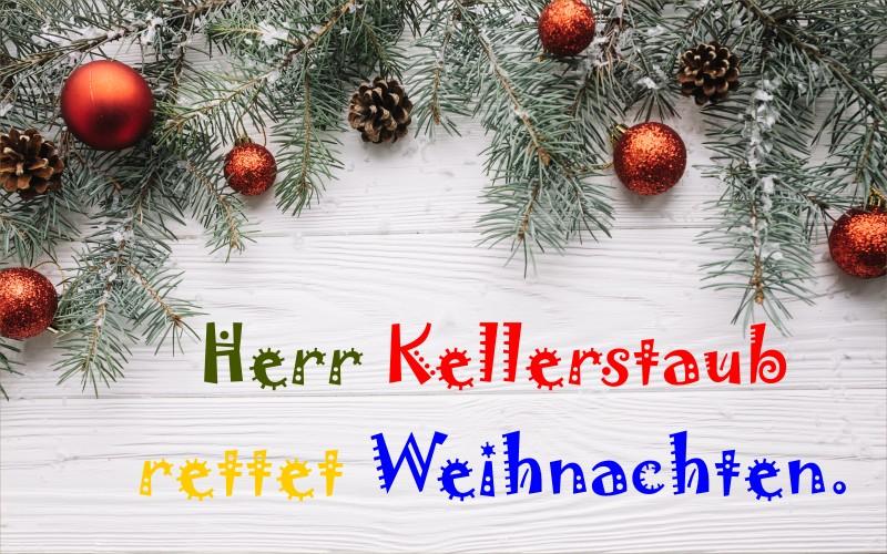 Der Traumzauberbaum – Herr Kellerstaub rettet Weihnachten