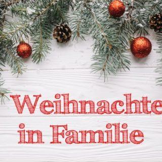 Weihnachten in Familie